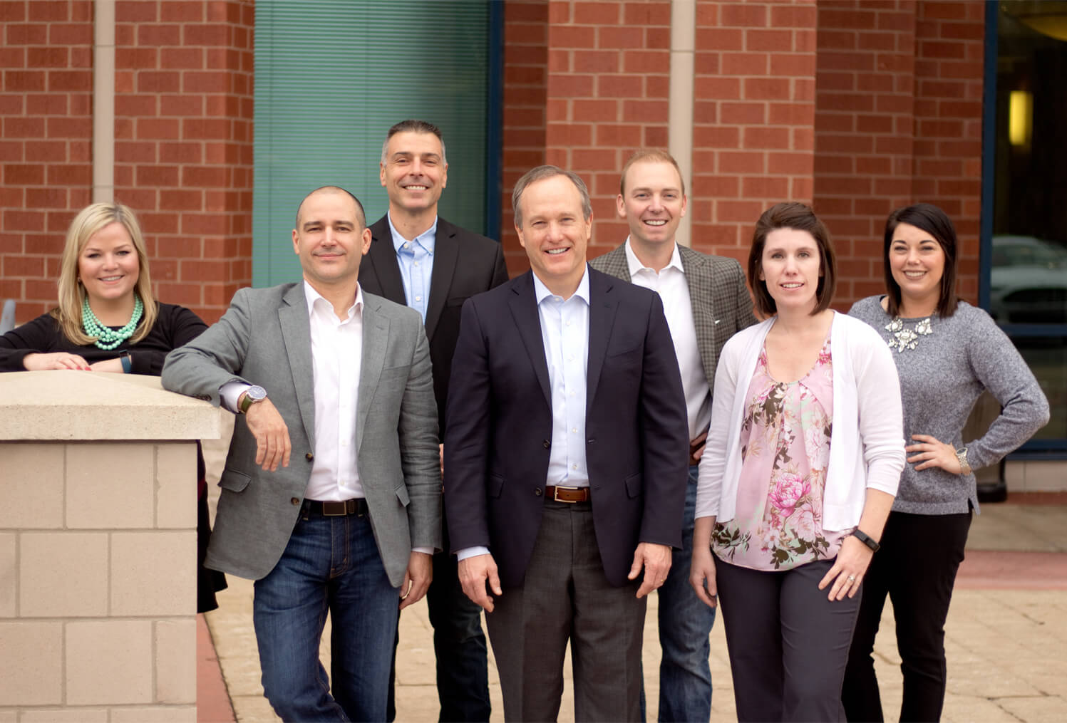 Barnes Young Wealth Management team photo
